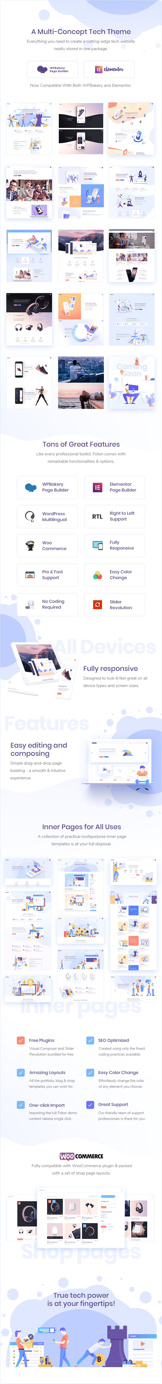 Foton - Software and App Landing Page Theme - 2
